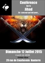 Conférence sur le Jihad, ce concept qui fait peur... Dimanche 12 Juillet à partir de 16h30